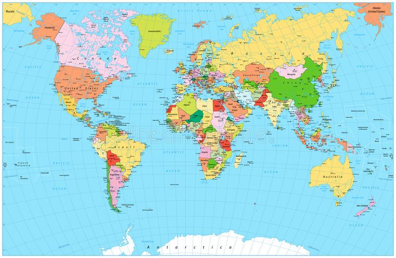 mapa-del-mundo-político-detallado-grande-con-los-objetos-del-agua-84422992