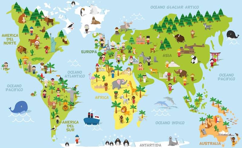 planisferio-educativo-ecosistemas-flora-y-fauna